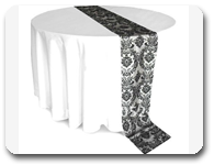 damask-flock-table-runner-black-and-white-table-runner-for-weddings_all